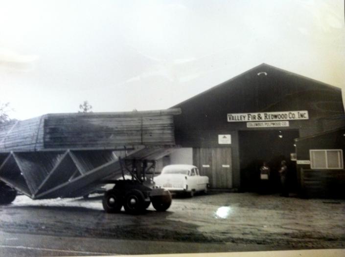 Valley Fir Office 1955