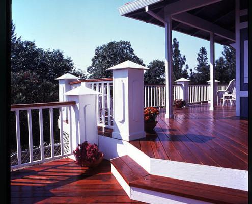 Gorgeous Redwood Deck