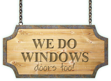 We do Windows - and doors too!